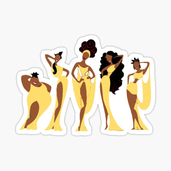 The Muses Sticker