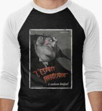 L'Esprit Diabolique Men's Baseball ¾ T-Shirt