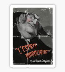 L'Esprit Diabolique Sticker