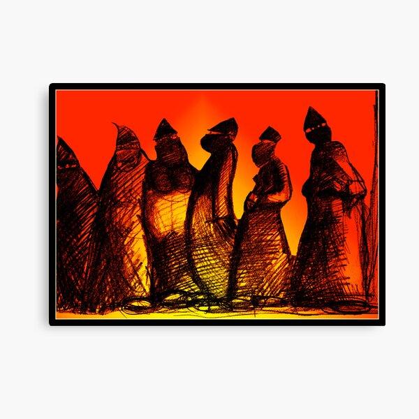 Burkadoodledandies Canvas Print
