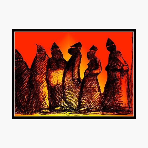 Burkadoodledandies Photographic Print