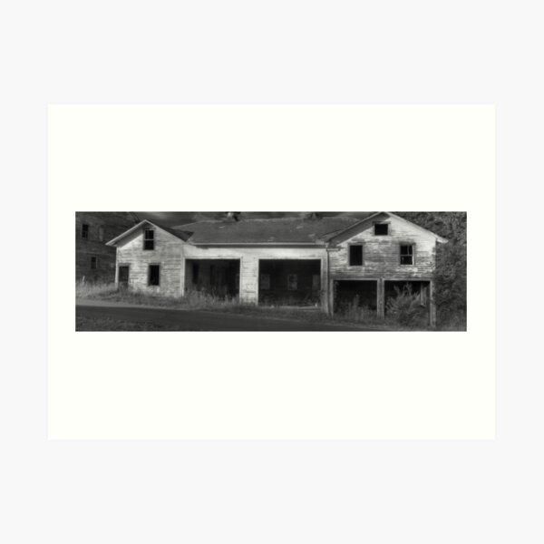 The Barns at Hayfield Farm Art Print