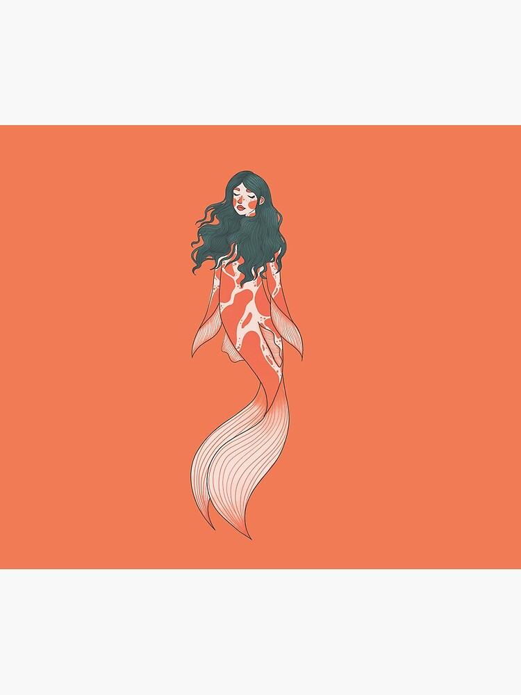 Koi mermaid by SydneyKoffler