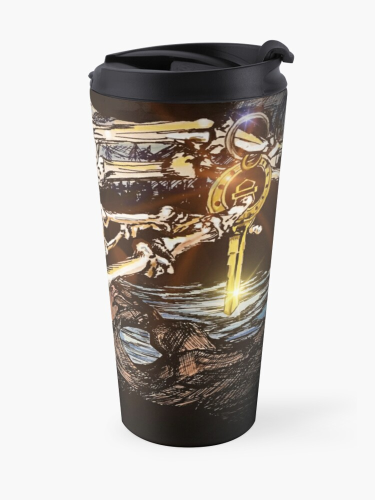 Alternate view of Kissing Camels Midnight Ride Travel Mug