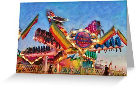 Carnival - A most colorful ride by Michael Savad