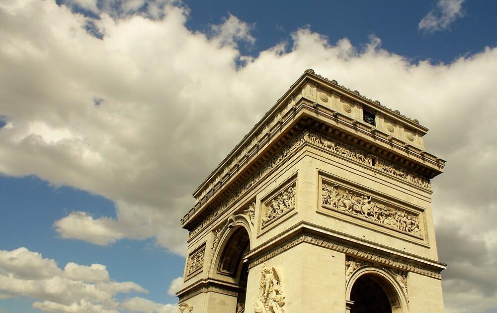 Arc de Triomphe à la lumière naturelle by kplata