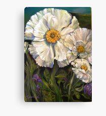 The Big Sur Mahalia Poppy Canvas Print
