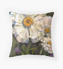 The Big Sur Mahalia Poppy Throw Pillow