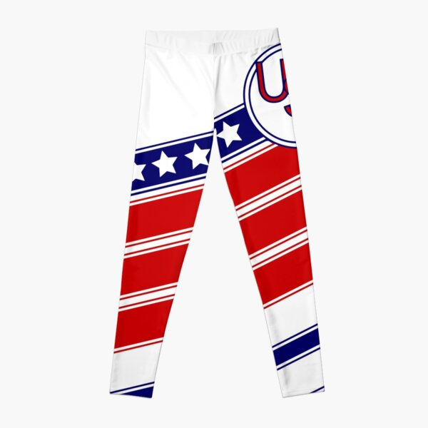 USA Retro Soccer Leggings