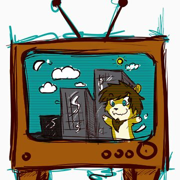 Lion TV by TEALfoxy