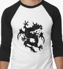 Mythical tribal dragon Men's Baseball ¾ T-Shirt