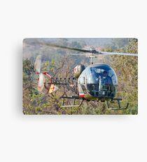 Bell 47 Inbound Canvas Print