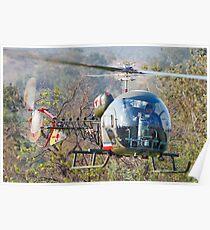 Bell 47 Inbound Poster