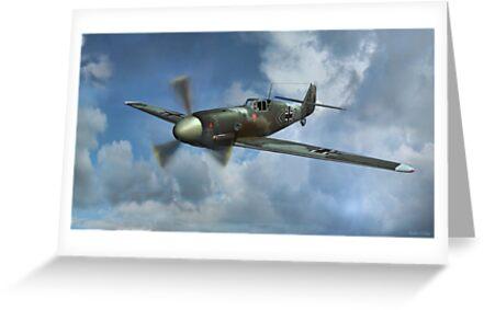 Messerschmitt Bf-109 by Walter Colvin