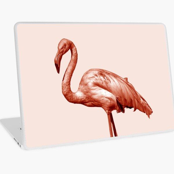 Monochrome - pink flamingo nr 1 Laptop Skin