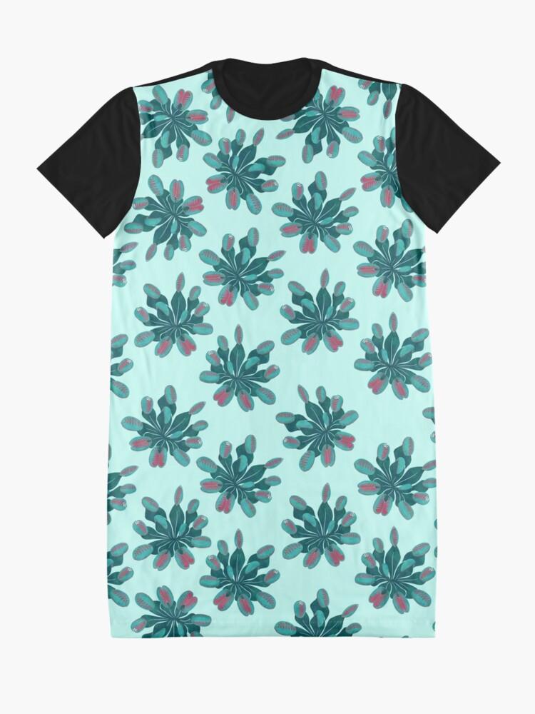Alternate view of Venus Flytrap Graphic T-Shirt Dress