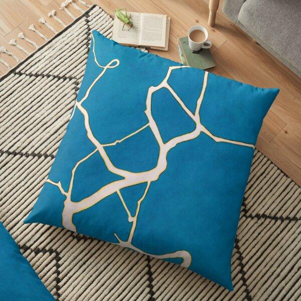 Ghost Bones Floor Pillow