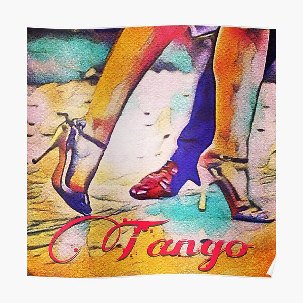 Tango Feet Buenos Aires Poster