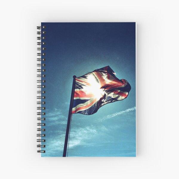United Kingdom Flag Spiral Notebook