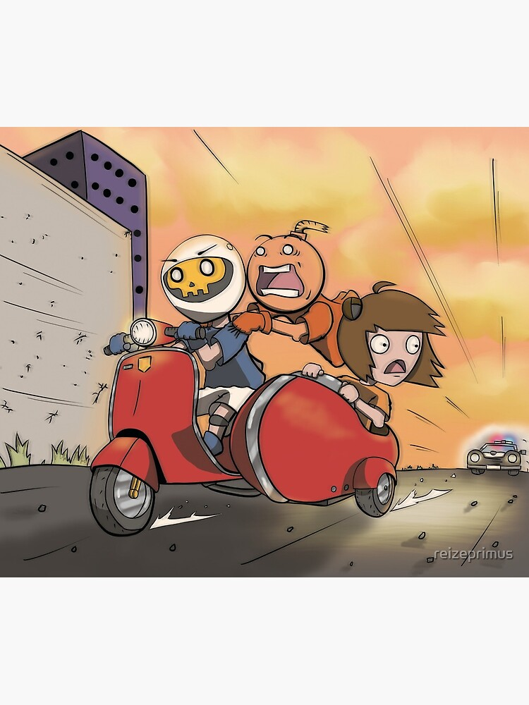 Running the Cops on a Vespa by reizeprimus