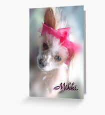 MIKKI Greeting Card