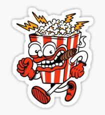 The Pop Corn Man  - designed by Joe Tamponi Sticker