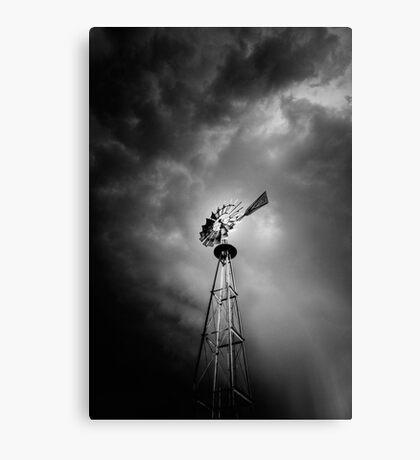 Windmill Attitude Canvas Print