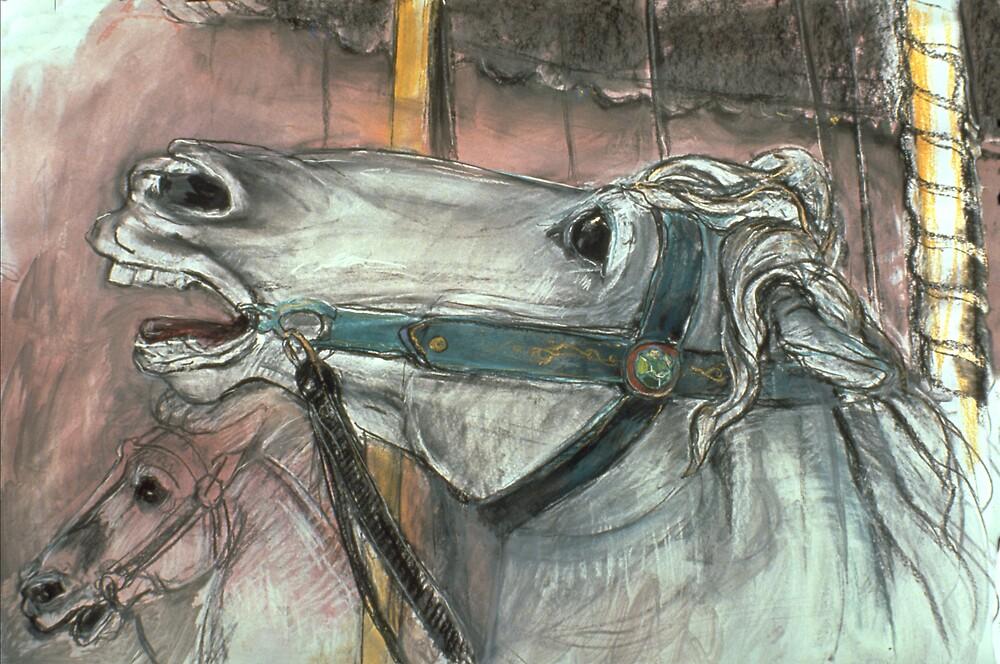 Carousel Horse by WoolleyWorld