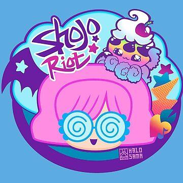 Shojo Riot by darthterry