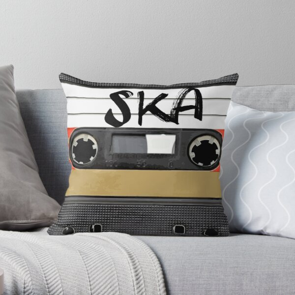 Ska Throw Pillow