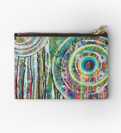 Spinning Dreams: Inner Power Painting Studio Pouch