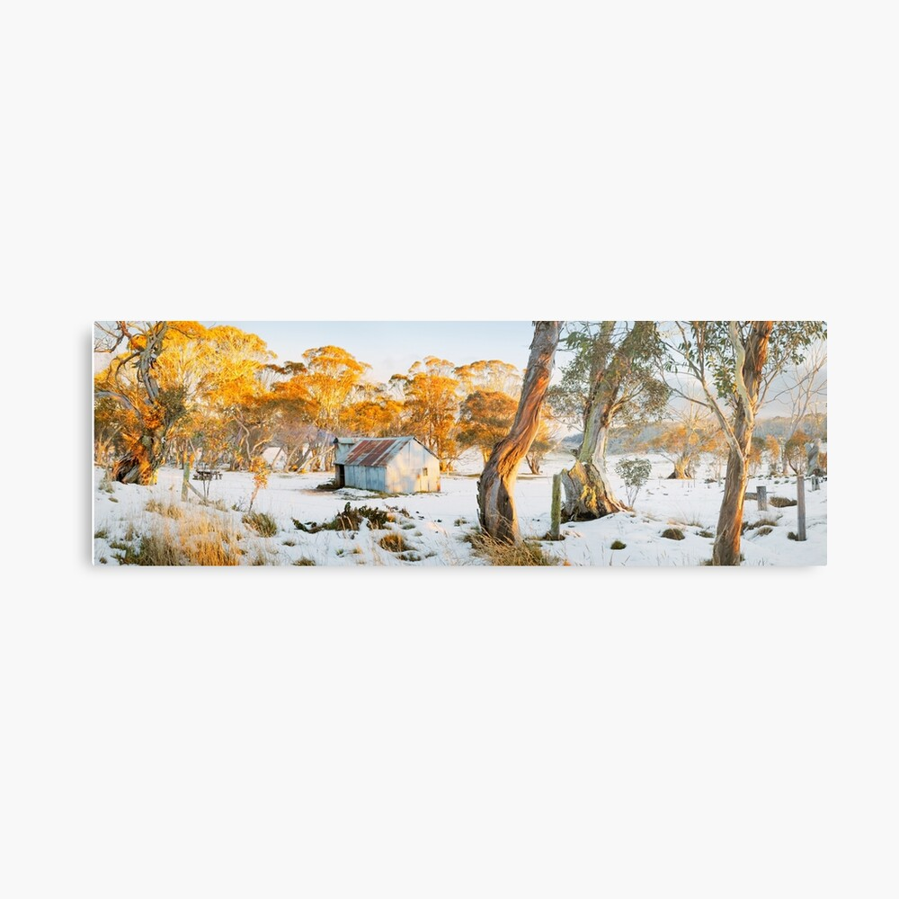 Howitt Hut, Alpine National Park, Victoria, Australia Metal Print