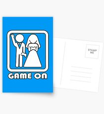 GAME ON 3 Postcards