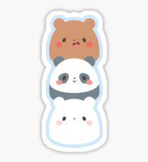 We Bare Gumdrop Bears Sticker