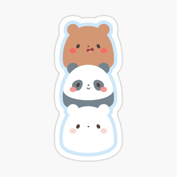 We Bare Gumdrop Bears Sticker