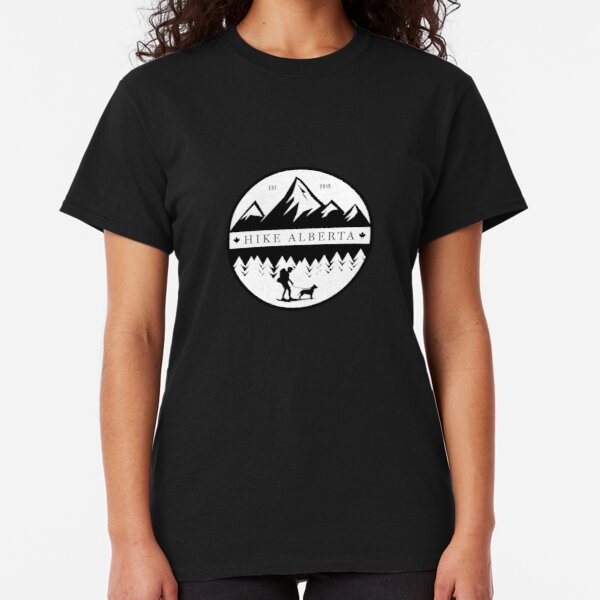 HIKE ALBERTA HIKER SERIES 1 Classic T-Shirt