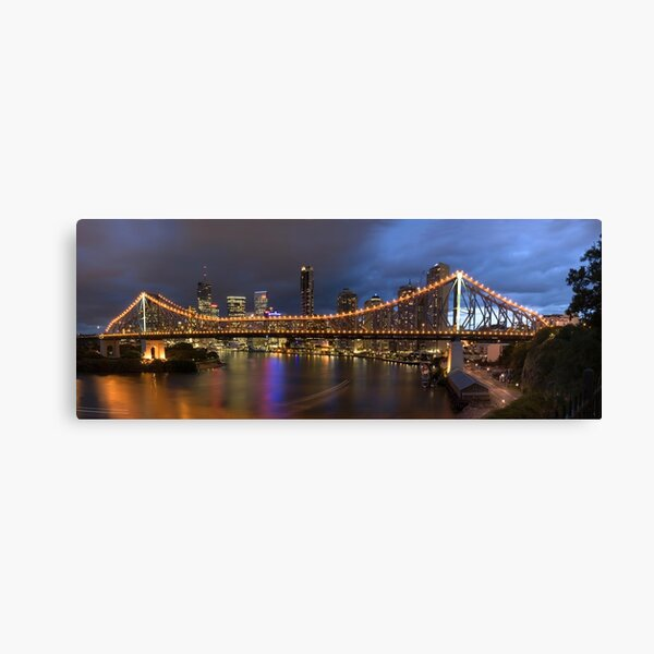 Brisbane Story Bridge Canvas Print