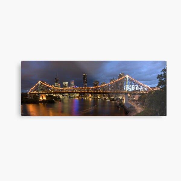 Brisbane Story Bridge Metal Print