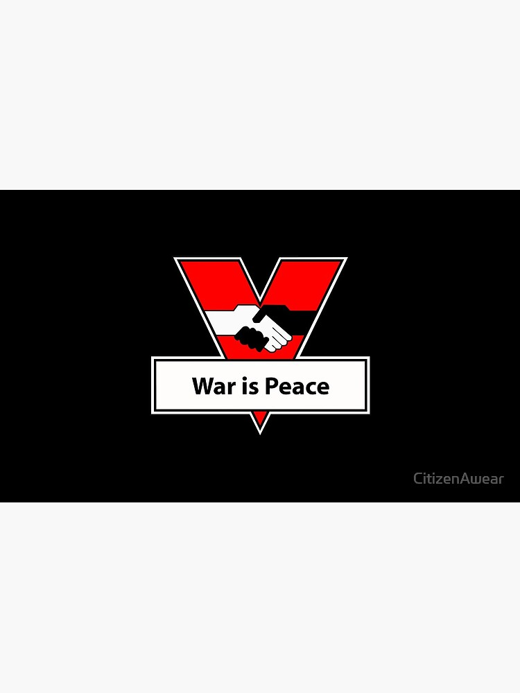 INSOC: 1984: War is Peace by CitizenAwear