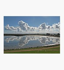 Cloud Reflections Photographic Print