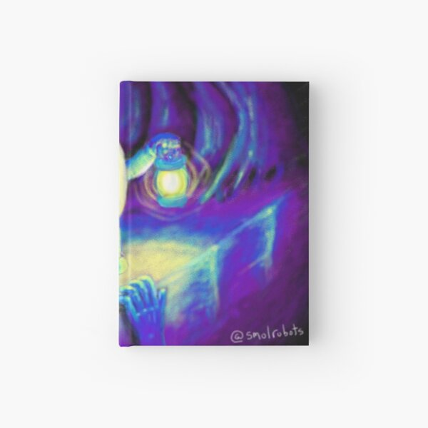 Hopebot in the Dark Hardcover Journal
