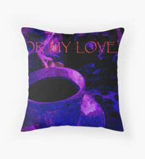 Card. For My Love. Throw Pillow