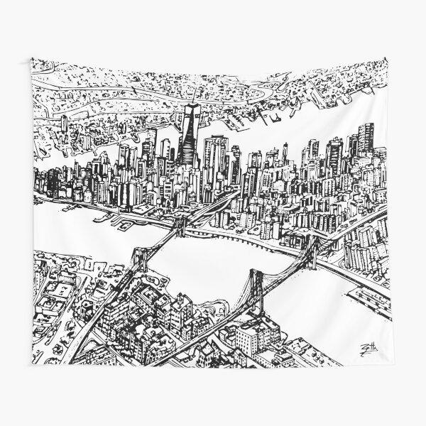 NEW YORK CITY Tapestry