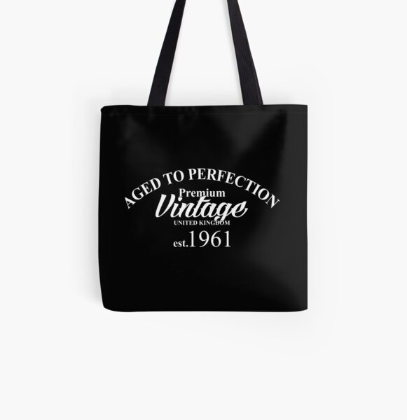 70th Birthday Gift Tote Shopping Cotton Fun Bag Vintage 1949 Aged To Perfection