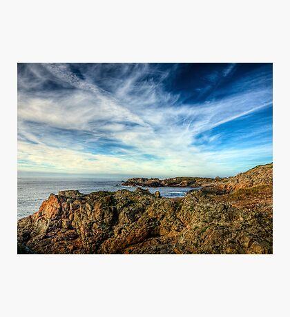 Looking towards Bibette Head - Alderney Photographic Print