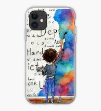 Always Keep Fighting Watercolor Painting (2015) REVAMP iPhone Case