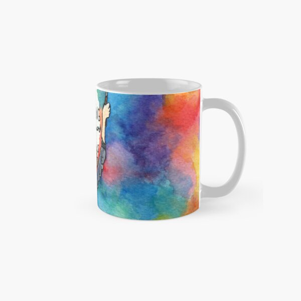 Always Keep Fighting Watercolor Painting (2015) REVAMP Classic Mug