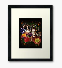 Firefly/Serenity Collage Framed Print