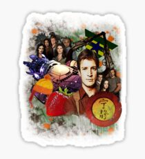 Firefly/Serenity Collage Sticker