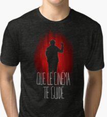 UM15 - QUE LE CINEMA TE GUIDE Tri-blend T-Shirt